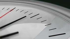 Ticchettio di secondi dell'orologio illustrazione vettoriale