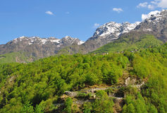 ticino Швейцарии maggiore озера centovalli Стоковое фото RF