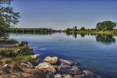 Ticino河 免版税图库摄影