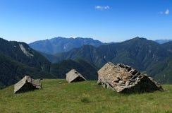 Ticino alm royalty-vrije stock afbeeldingen