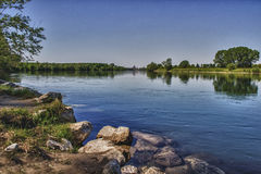 Ticino Fluss Lizenzfreie Stockfotografie