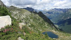 Ticino hike stock video footage