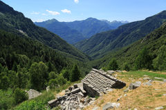 Ticino home Royalty Free Stock Image
