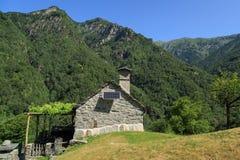 Ticino home Stock Image