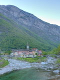Ticino mountain village Stock Photography