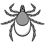 Tick Illustration. A vector illustration of a Tick Stock Photography