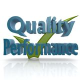 Tick quality performance Stock Photography