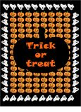 Tick or treat Stock Image