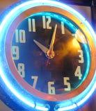 Ticker au néon Images stock