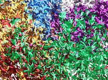 Ticker tape background. Stock Image