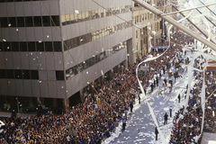 Ticker Tape Parade Stock Photography