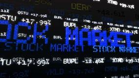 Tickers de marché boursier Loopable clips vidéos