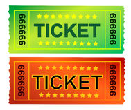 Ticket 11 Stock Photo