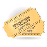 Ticket Royalty Free Stock Photo