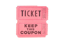 Ticket Stock Photography