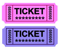 Ticket 3 Stock Images