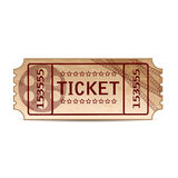 Ticket Royalty Free Stock Photos