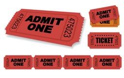 Ticket Royalty Free Stock Photo