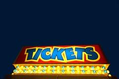 Ticket ambos fotos de stock