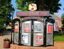 Ticket Booth at The Grand Ole Opry House Stock Image