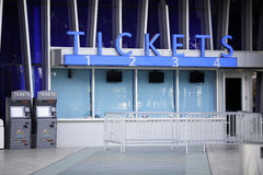 Ticket booth at Marlins Stadium Stock Image