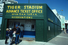 Baseball Ticket Booth. Royalty Free Stock Images
