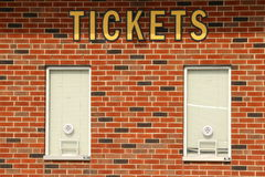 Ticket Booth Royalty Free Stock Photography