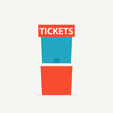 Ticket box office icon Royalty Free Stock Photos