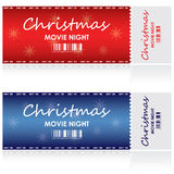 Ticket for Christmas Stock Photos