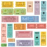 Ticket Collection Stock Photos