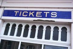 Ticket counter Royalty Free Stock Photos