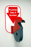 Ticket Dispenser royalty free stock photography