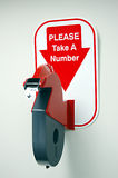 Ticket Dispenser Royalty Free Stock Photos