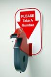 Ticket Dispenser royalty free stock photos