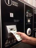 Ticket dispenser machine Stock Photography
