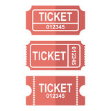 Ticket  icon Royalty Free Stock Photography