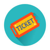 Ticket icon Royalty Free Stock Photo