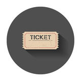 Ticket icon. Royalty Free Stock Photography