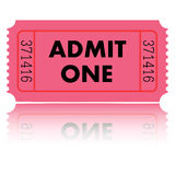 Ticket Illustration Stock Photography