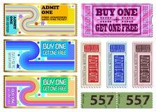 Ticket Illustrations Stock Photos