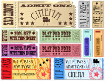 Ticket Illustrations Royalty Free Stock Photos