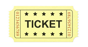 Ticket royalty free stock images