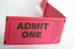 Ticket line Stock Photography