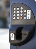 Ticket machine Royalty Free Stock Photography