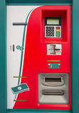 Ticket machine. For trains, railroad Royalty Free Stock Photo