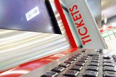 Ticket machine Stock Image
