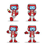 Ticket Machine Robot Royalty Free Stock Photography