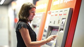 Ticket Machine stock video footage