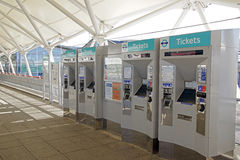 Ticket Machines Royalty Free Stock Image