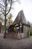 Ticket office at the entrance to national park Hoge Veluwe in Sc. Haarsbergen near Arnhem Royalty Free Stock Photos